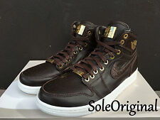 Nike Air Jordan 1 Retro High Pinnacle SZ 14 Baroque Brown Croc Lux OG 705075-205