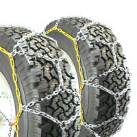 Titan Diamond Pattern Alloy Square Tire Chains On Road Snow 4.7mm 285/70-17