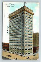 Dallas TX Praetorian Building Stone Place Tower Vintage Texas c1909 Postcard X33