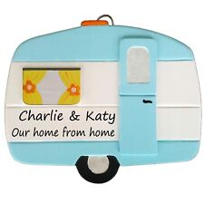 Vintage Personalised Caravan Plaque - ANY message/wording - by Truly for You