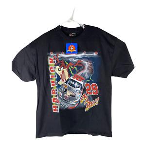 Kevin Harvick #29 Goodwrench Service RCR Chase Large Black Taz T-Shirt
