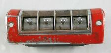 Vintage Automobile Car Part Mounted Switches Seat Controls Red Metal Delta