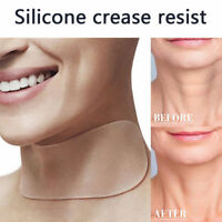 Neck Care Pad Silicone Anti Wrinkle Aging Reusable Transparent Pad Neck Lifting