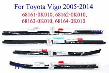TOYOTA HILUX 2005 - 2014 GENUINE WINDOW GLASS SEALS DOOR BELT WEATHER STRIP 09