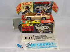 corgi ASTON MARTIN DB5 JAMES BOND 007 GOLDFINGER - 261