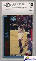 1998/99 Upper Deck MJ23 Insert #M21 Michael Jordan BECKETT 10 MINT Bulls HOF