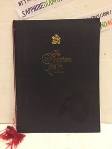 The Phantom of the Opera SOUVENIR BROCHURE great condition!