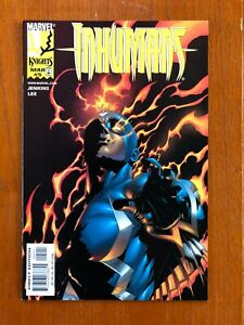 INHUMANS #5 (1999) 1st Appearance of Yelena Belova The New Black Widow