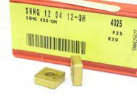 10 NEW SANDVIK CARBIDE INSERTS SNMG 433-QM GRADE-4025