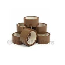 Tape 42 Rolls Tan Quality Packaging 2 mil Packing Move Box Carton Sealing 2x110