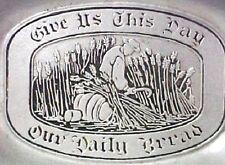 Wilton PA Pewter US Daily Bread Tray Wheat RWP Armetale Matte Finish USA