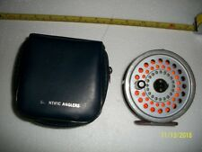 FLY REEL WITH 8 WEIGHT FLY LINE  SCIENTIFIC ANGLER BUILT BY HARDY OF ENGLAND