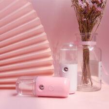 Mini USB Portable Pore Facial Steamer Nano Mist Face Sprayer Moisture ColorWhite