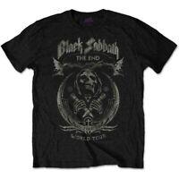 Black Sabbath Hombre / Camiseta Unisex: El Extremo Seta Nube (Angustiado) Nueva