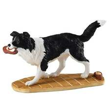 Border Fine Arts Mans Best Friend Border Collie Figurine New Boxed A25916