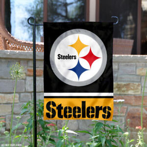 Pittsburgh Steelers Garden Flag and Yard Banner