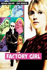 FACTORY GIRL Movie POSTER 27x40 B Guy Pearce Sienna Miller Hayden Christensen