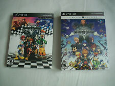 Sony Playstation 3 PS3 Kingdom Hearts 1.5 and 2.5 Remix Limited Editions -NEW-