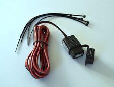 Mobile USB-Steckdose - spritzwassergeschützt mit 1,5 m Kabel und Schalter