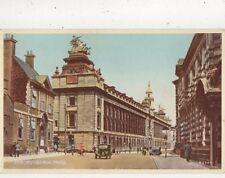 The Guildhall Hall Vintage Postcard 847a