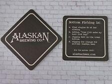 "Beer Bar Coaster: ALASKAN BREWING ~ Bottom Fishing Is..."" Juneau, ALASKA Brewpub"