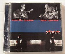 CHARLIE HUNTER . LEON PARKER . DUO  .  CD