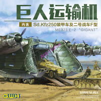 """GreatWall L1007 1/144 SCALE ME323 E-2""""GIGANT""""LUFT WAFFE TRANSPORTER/W SD.KFZ 250"""