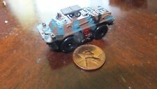 MILITARY MICRO MACHINE TT BLUE BROWN BLACK  CAMO RUSSIAN BRDM2 AT5
