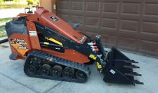 Toro Dingo Ditch Witch Mini Skid Steer 42 Low Profile Dirt Bucket With Teeth