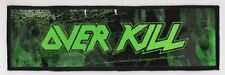 OVERKILL SUPERSTRIP PATCH / SPEED-THRASH-BLACK-DEATH METAL