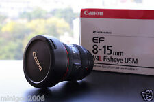 NEW CANON EF8-15mm F4L Fisheye USM (EF 8-15mm F4L) Ultra-Wide Zoom Lens*Offer