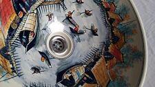 Hand painted porcelain wash basin. En suite basin. Bathroom wash basin FREE POST