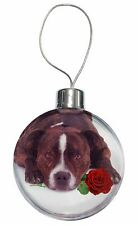 AD-SBT6RlymCB Staffie+Rose /'Love You Mum/' Christmas Tree Bauble Decoration Gift