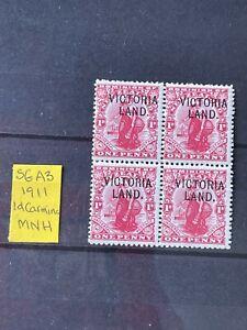 NEW ZEALAND - ANTARCTIC EXPEDITIONS VICTORIA LAND SG A3