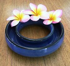 Frangipani Float Bowl -large- Handmade in Australia