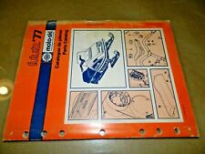 1977 Moto-Ski Futura 400_440 Rotax 402/440 motor Parts Catalog_Vintage OEM