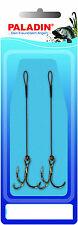 2 Stück Paladin Supersteel 1:19 Stinger Vorfach mit Drilling 7,5cm 12 kg Größe 4