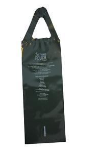 "10 AL'S FLOWER POUCHES -10 SLIT- 8"" x 20"" Bag Pouch Green Plastic Hanging"