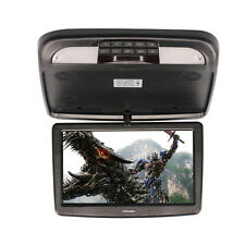 12 Inch Wide TFT LCD Monitor Car Overhead Flip Down Roof Mount Digital Screen TV