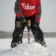 "New Eskimo Pistol Bit 8"" Ice Auger Drill 35500 Fishing Cordless 4# super fast!"