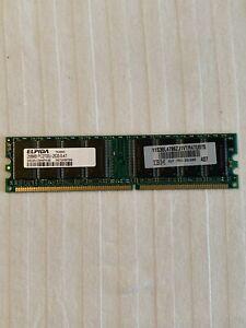 Elpida PC2700U-2533-0-A1 RAM 256MB 333 MHz 184 Pin DIMM Desktop PC2700