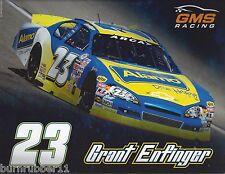 """2015 GRANT ENFINGER """"ALAMO GMS RACING"""" #23 NON NASCAR ARCA SERIES POSTCARD"""