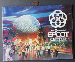 1982 Orlando Florida Walt Disney World Epcot Center Grand Opening program-COOL!