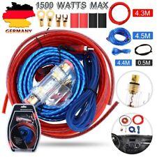 10 AWG Car-Hifi Kabelset Verstärker KFZ AUTO Endstufe Subwoofer Kabel Chinch DHL