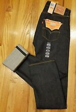 MEN LEVI'S ORIGINAL FIT 501 SELVEDGE JEANS 005012005 SHRINK-TO-FIT SZ 29X34 $118