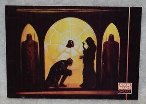 1994 Star Wars Galaxy Series 2 Trading Card # 207 Darth Vader & Emperor Palpatin