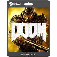 Doom Steam PC Global Digital Key