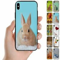 For OPPO Series - Easter Bunny Theme Print Mobile Phone Back Case Cover #1