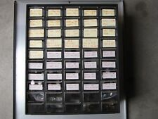 5x10 drawers Cabinet with electrical components resistors, capacitors and others