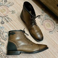 Ted Baker London Size US 12  UK 11 Brown Leather Comptan Boots Mens